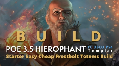 POE 3.5 Templar Hierophant Starter Frostbolt Totems Build (PC,XBOX,PS4)- Fast Clear Speed, Easy, Cheap