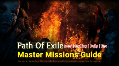 Path Of Exile Master Missions Guide - Intro | Crafting | Daily | Tips