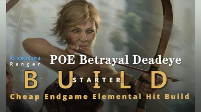 POE Betrayal Deadeye Elemental Hit Starter Build