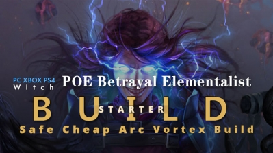 POE Betrayal Elementalist Arc Starter Build