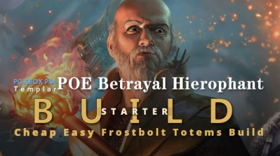 POE Betrayal Hierophant Frostbolt Totems Starter Build