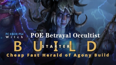 POE Betrayal Occultist Herald of Agony Starter Build