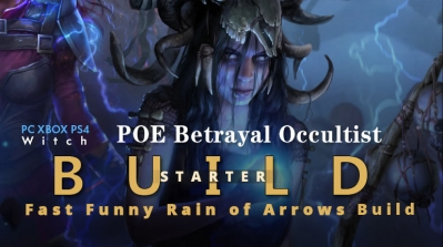POE Betrayal Occultist Rain of Arrows Starter Build