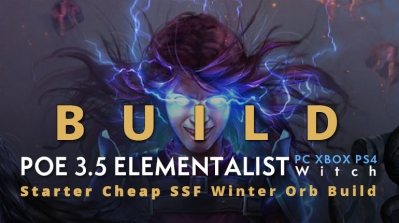 POE 3.5 Witch Elementalist Starter Winter Orb Build