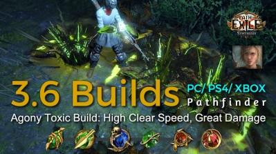 POE Synthesis Ranger Agony Toxic Rain Pathfinder Build