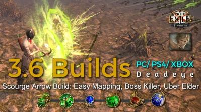 POE Synthesis Ranger Scourge Arrow Deadeye Build