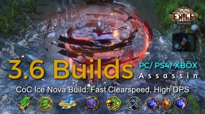 POE Synthesis Shadow Ice Nova Assassin Build