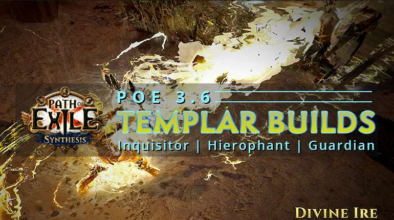 3 6] Best PoE Synthesis Templar Builds - Inquisitor | Hierophant