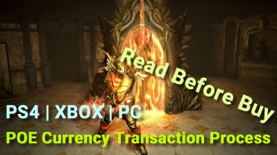 PS4 | XBOX | PC POE Currency Transaction Process