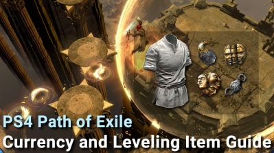 PS4 POE Currency and Leveling Item Guide