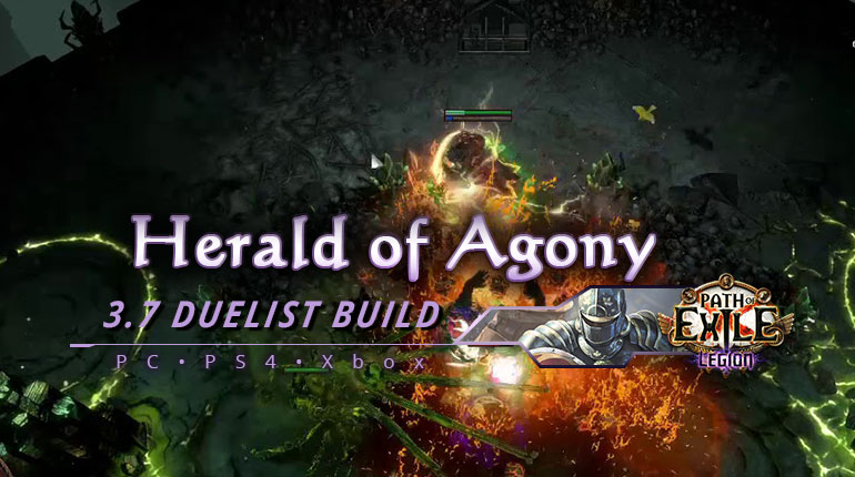 [PC,PS4,Xbox] PoE 3.7 Duelist Herald of Agony Summon Champion Build