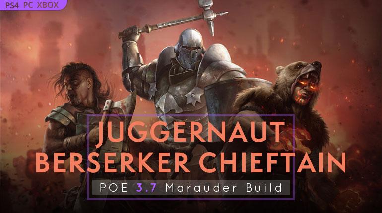 PoE 3 7 Marauder Starter Builds - poecurrencybuy com