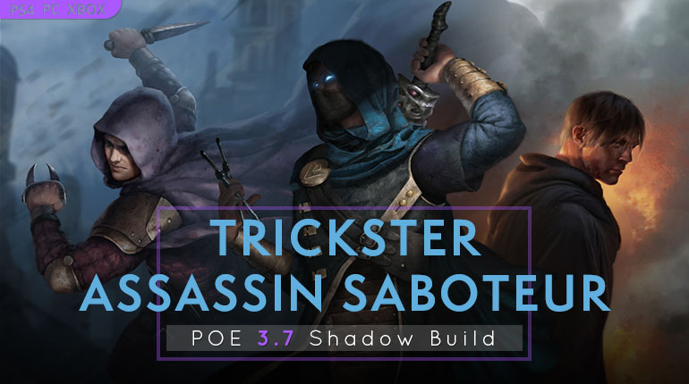 PoE 3.7 Shadow Starter Builds