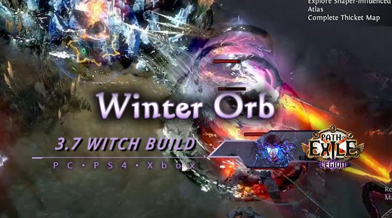 [PC,PS4,Xbox] PoE 3.7 Winter Orb Witch Elementalist Starter Build