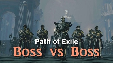 Path of Exile Boss vs Boss Video
