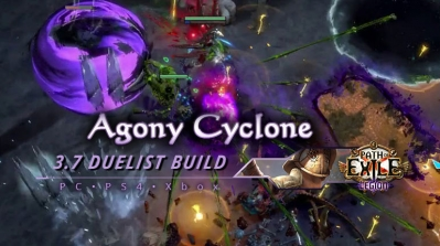 PoE 3.7 Duelist Agony Cyclone Gladiator Endgame Build