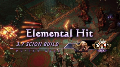 PoE 3.7 Elemental Hit Scion Ascendant Endgame Build