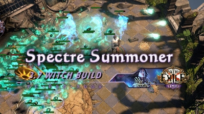 PoE 3.7 Spectre Summoner Witch Necromancer Fast Build
