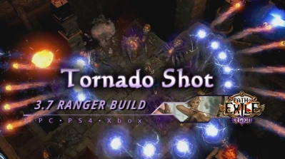 PoE 3.7 Tornado Shot Ranger Deadeye Build