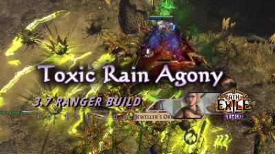 PoE 3.7 Toxic Rain Agony Ranger Pathfinder Fast Build