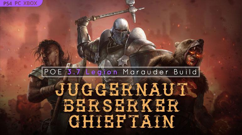 Path of Exile Legion Top Marauder Builds