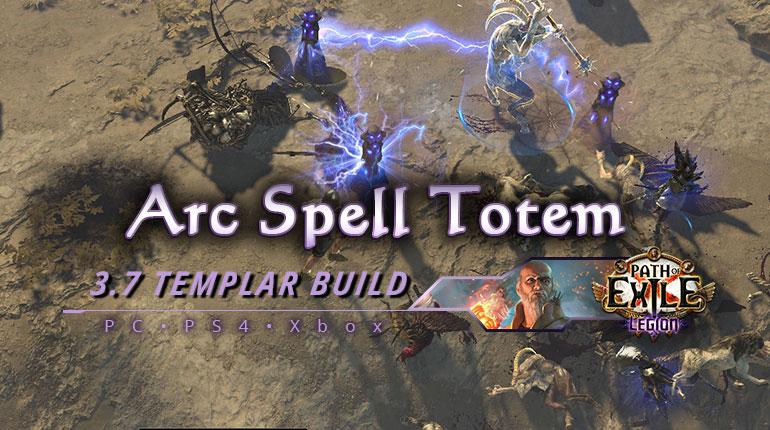 [PC,PS4,Xbox] PoE 3.7 Arc Spell Totem Templar Hierophant Cheap Build