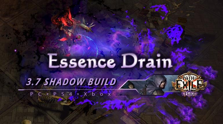 [PC,PS4,Xbox] PoE 3.7 Essence Drain Shadow Trickster Cheap Build