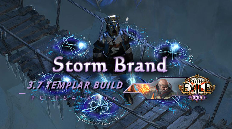 [PC,PS4,Xbox] PoE 3.7 Storm Brand Templar Inquisitor Starter Build