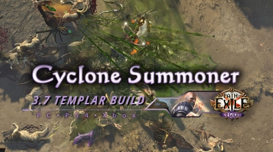 PoE 3.7 Cyclone Summoner Templar Guardian Build