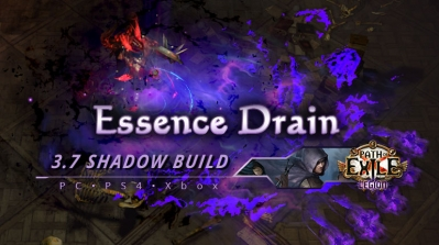 PoE 3.7 Essence Drain Shadow Trickster Cheap Build