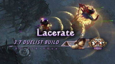 PoE 3.7 Lacerate Duelist Gladiator Endgame Build