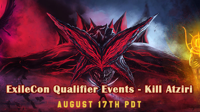 PoE ExileCon Qualifier Events