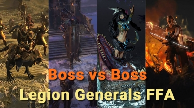 Path of Exile Boss vs Boss - Legion Generals FFA