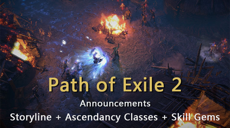 Path of Exile 2 Announcements