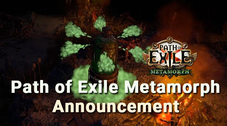 Path of Exile Metamorph League Announcement