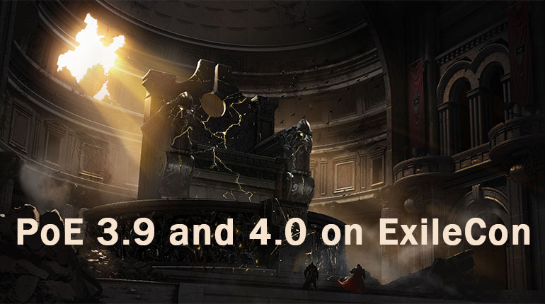 PoE 3.9 and 4.0 on ExileCon