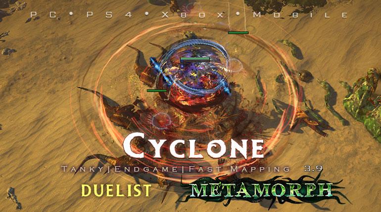 Poe 3 9 Duelist Cyclone Slayer Endgame Build Pc Ps4 Xbox Mobile Poecurrencybuy Com