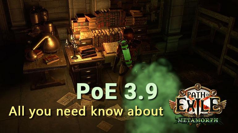 PoE 3.9 Metamorph League Trailer