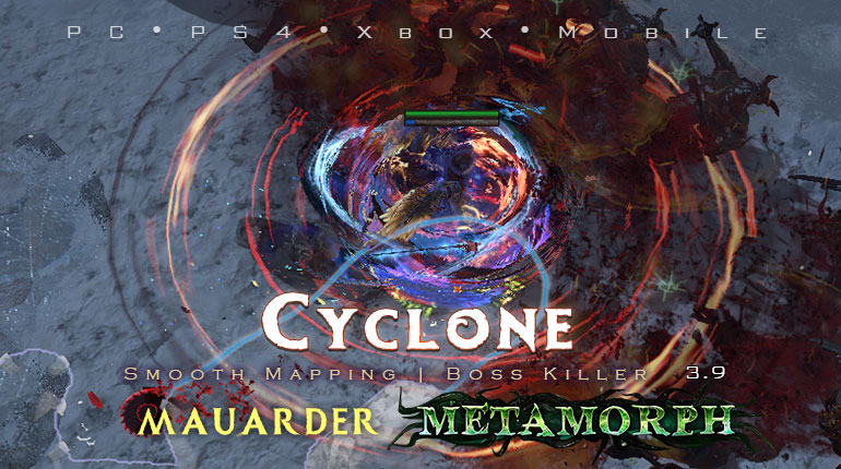 PoE 3.9 Mauarder Cyclone Berserker Starter Build (PC,PS4,Xbox,Mobile)