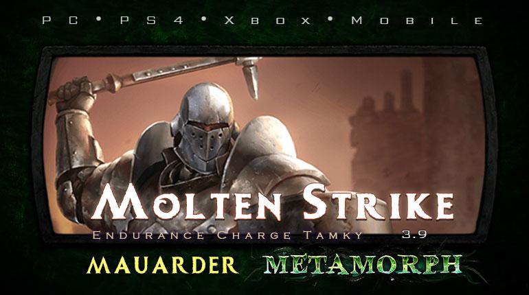 PoE 3.9 Mauarder Molten Strike Juggernaut Tanky Build (PC,PS4,Xbox,Mobile)