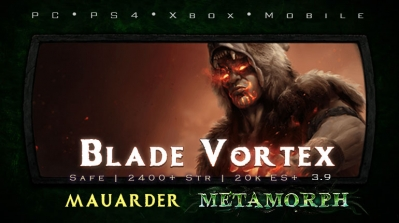 PoE 3.9 Mauarder Blade Vortex Chieftain Safe Build (PC,PS4,Xbox,Mobile)