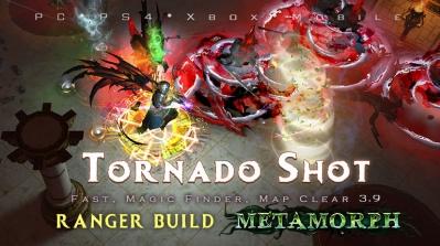 PoE 3.9 Ranger Tornado Shot Deadeye Fast Build