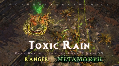 PoE 3.9 Ranger Toxic Rain Pathfinder Fast Build (PC,PS4,Xbox,Mobile)