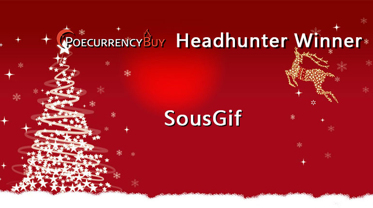 2019 Christmas Event Headhunter Winner