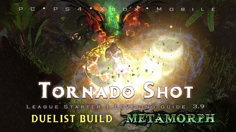 PoE 3.9 Duelist Tornado Shot Champion Starter Build (PC,PS4,Xbox,Mobile)