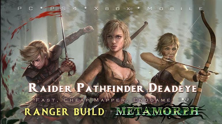 PoE 3.9 Ranger Starter Builds (PC,PS4,Xbox,Mobile)