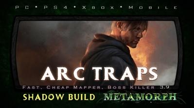 PoE 3.9 Shadow Arc Traps Saboteur Endgame Build