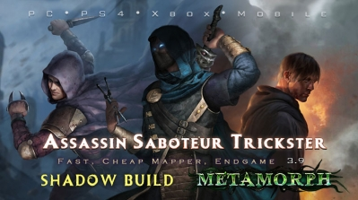 PoE 3.9 Shadow Starter Builds (PC,PS4,Xbox,Mobile)