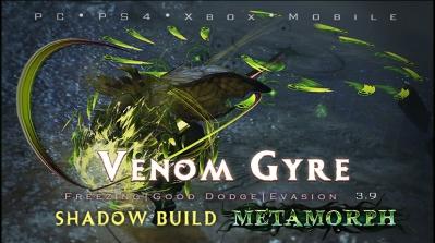 PoE 3.9 Shadow Venom Gyre Assassin Freeze Build