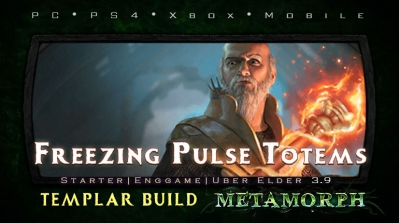 PoE 3.9 Templar Freezing Pulse Totems Hierophant Endgame Build (PC,PS4,Xbox,Mobile)
